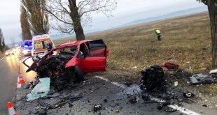 Accident grav pe DN1D, la Albești. Un bărbat a murit, iar un altul a ajuns la spital