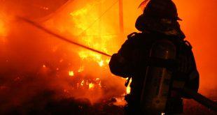 Incendiu violent la Gornet