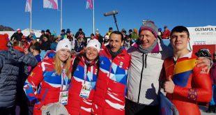 Campionii olimpici s-au întors acasă!