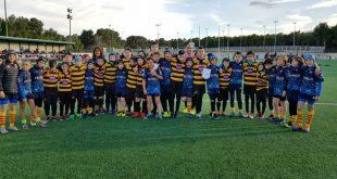Aurora Băicoi – Rugby U 12 în onoare la debutul internațional