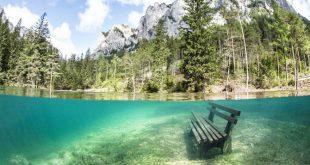 Fenomen bizar – parcul care se transformă vara în lac