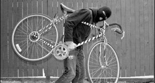 Furt de bicicletă în Oborul din Ploiești